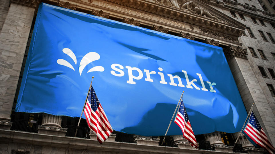 Picture for Sprinklr, Marketing Software Firm, Rises in First Day of Trading