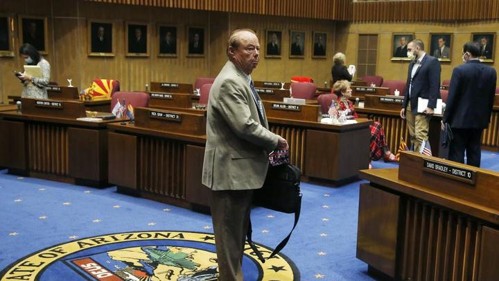 Cover for Frank Pratt, longtime Arizona GOP lawmaker, dies at 79