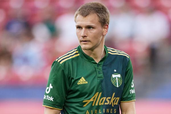 Picture for Portland Timbers recall midfielder Blake Bodily from San Diego Loyal