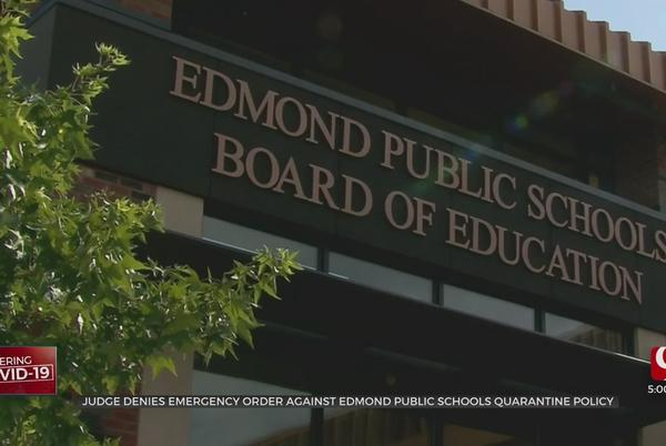 Picture for Judge Denies Temporary Restraining Order Proposed By Parents Of Edmond Students