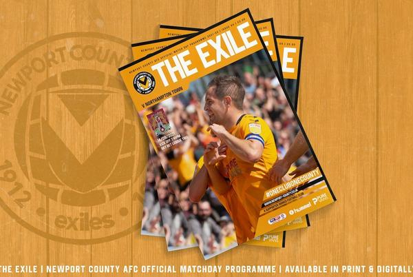 Picture for MATCHDAY PROGRAMME   Newport County AFC vs Northampton Town