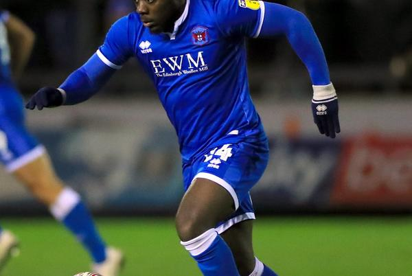 Picture for Hartlepool sign striker Olufela Olomola following a successful trial