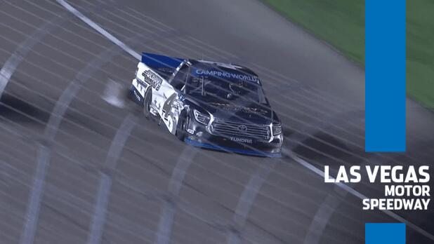 Cover for NASCAR | Points leader John Hunter Nemechek loses power, positions at Las Vegas