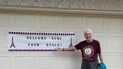 Cover for 'Wow, There Goes The Ground': North Texan Wally Funk Shares Story Of Her Dream Journey Into Space