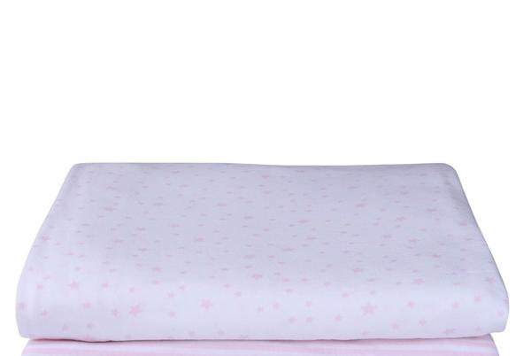Picture for Clair de Lune 2pk Fitted Cotton Interlock Cot Bed Sheets (Stars & Stripes Pink)