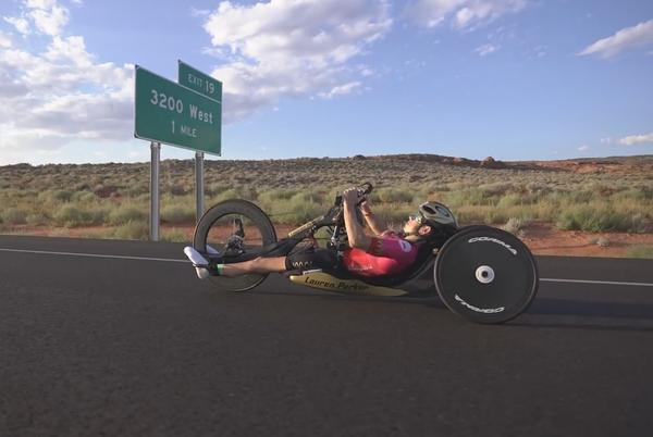 Picture for CAF's Lauren Parker discusses Ironman 70.3 World Championship gold medal