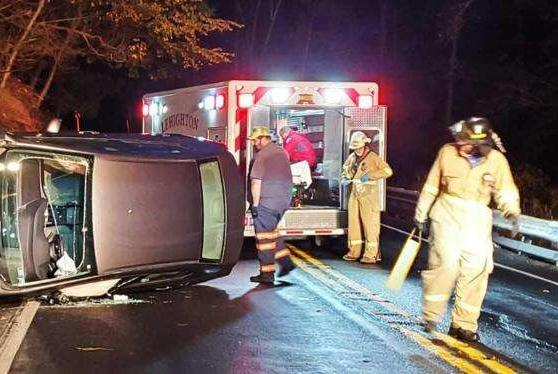 Picture for Woman injured in Franklin rollover