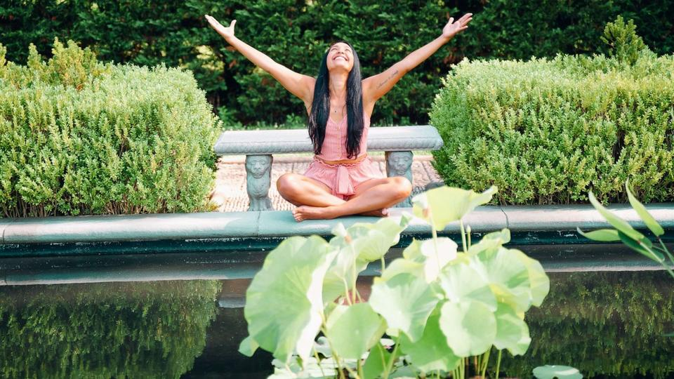 Picture for Former TV producer opens up about how yoga changed her life