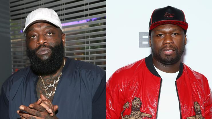 "Rick Ross ""Laughs Last"" After 50 Cent Loses ""In Da Club"" Remix Appeal"
