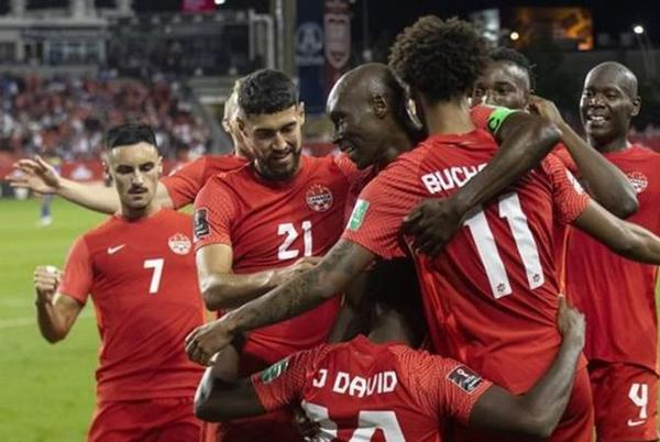 Picture for Osorio goal lifts Canada into a 1-1 tie with Mexico in World Cup qualifying game