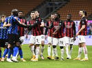 Picture for Inter 2-1 AC Milan: Refereeing disaster and Eriksen free-kick sees the Nerazzurri progress
