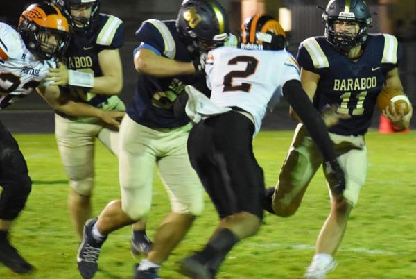 Picture for Larson leads Baraboo past Portage, 34-19