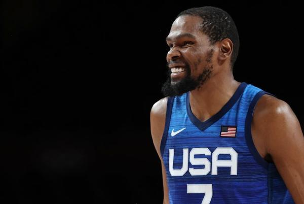 Picture for Team USA overcomes sluggish start vs. Spain thanks to Kevin Durant, advances to Olympic men's basketball semifinals