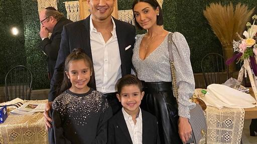Mario Lopez Dances With Wife Courtney Mazza And Their 3 Kids In