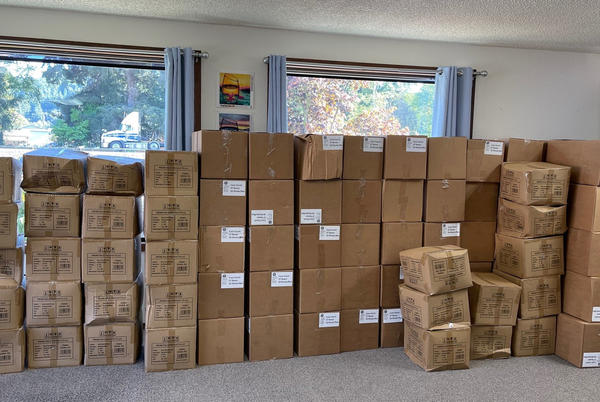 Picture for Douglas County receives large supply of PPE for residents, businesses