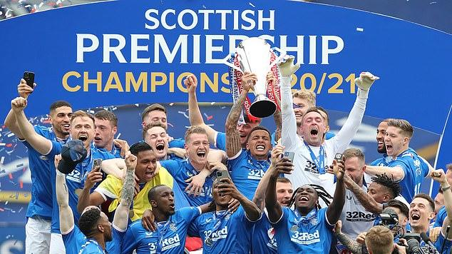 Picture for Rangers aim to build on their 55th league title by launching share scheme in which fans can shape the future direction of the club for a £500 investment... as Scottish champions plot a different path to clubs who wanted European Super League