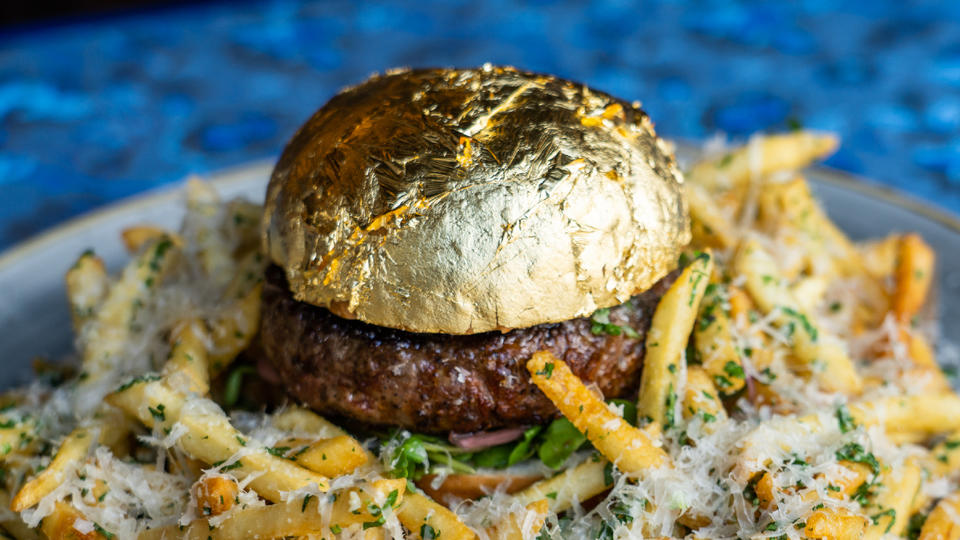 Picture for The Dorian in San Francisco is Selling a $50 Gold-Covered Cheeseburger