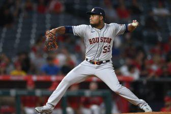 Picture for WATCH: Framber Valdez guides Astros to 10-0 rout of Angels