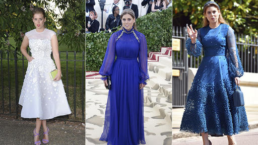 Happy Birthday Princess Beatrice See Her Best Dresses And