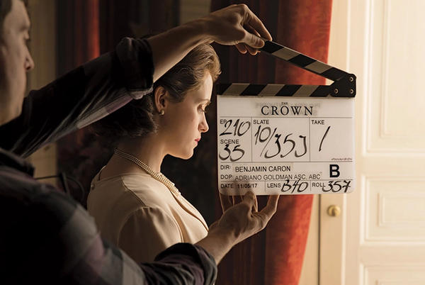 Picture for The Crown Season 5 BTS Photos Leaked. Click to know