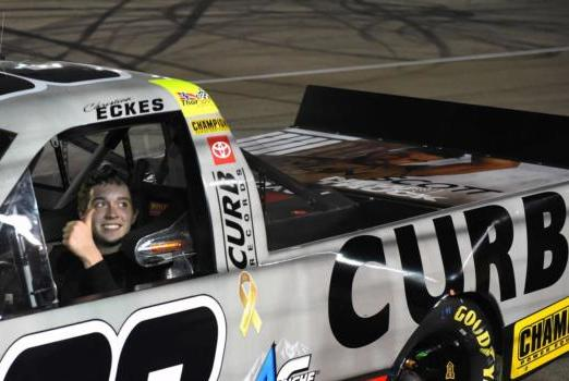 Picture for Eckes notches first career Truck Series win in Victoria's Voice Foundation 200
