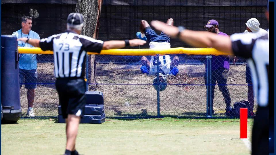 Picture for Cowboys Injury Update: Gallup Returns To Practice After Fence-Flip Scare