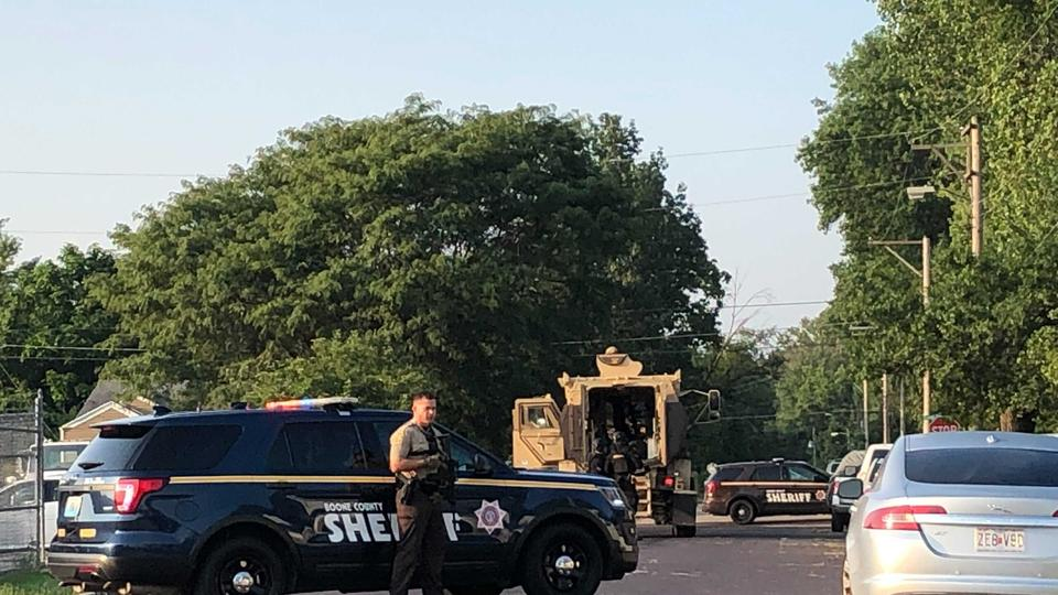 Picture for Several Boone County deputies respond to Columbia home with armored vehicle