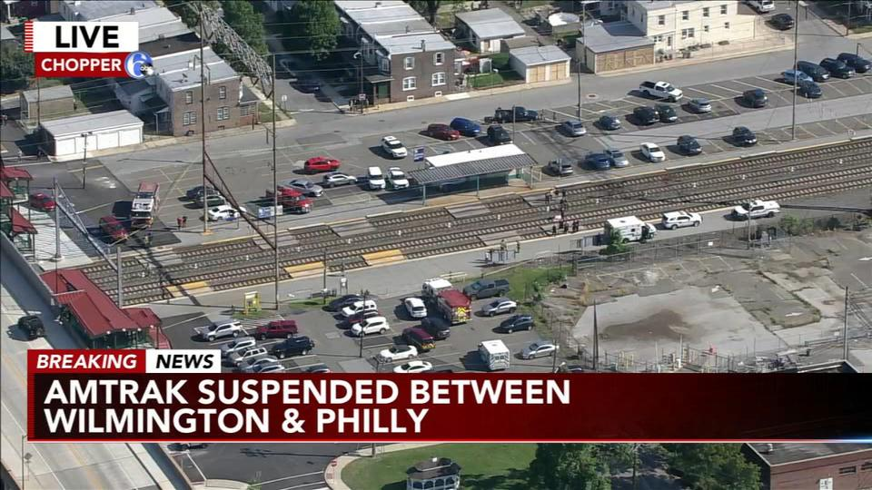 Picture for Pedestrian hit, killed by Amtrak train in Delaware County