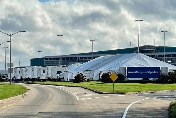 Picture for Sources: Whitney Houston movie 'I Wanna Dance with Somebody' filming at Worcester Airport