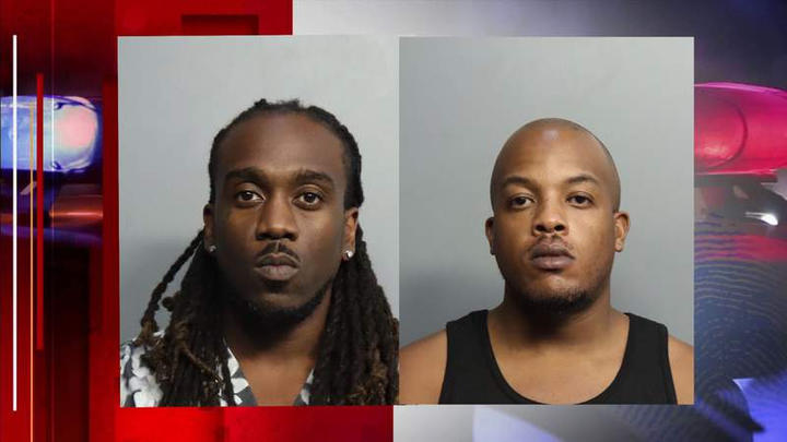 Cover for 2 Marijuana Traffickers Arrested at Miami Beach