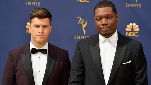 Colin Jost And Michael Che Went To Chris Rock S House To Convince Him To Host Snl Season Opener News Break