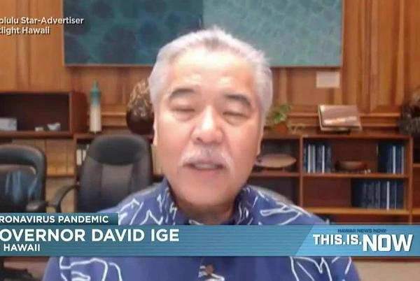 Picture for Ige discusses when the state could loosen COVID restrictions
