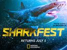 """Picture for National Geographic's """"SharkFest"""" Returns in July; Schedule Includes """"Shark Beach"""" With Chris Hemsworth"""