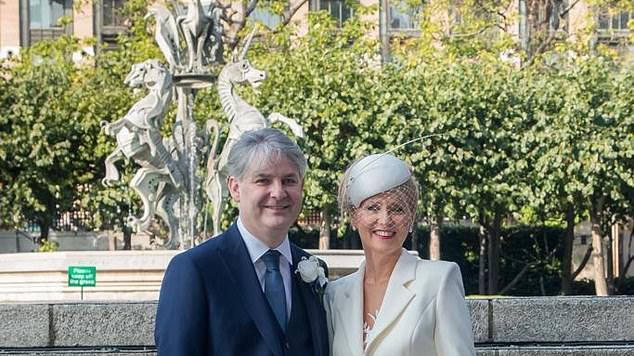 Picture for Tory newlyweds Esther McVey and Philip Davies urge Boris to back Covid-secure weddings from March 8