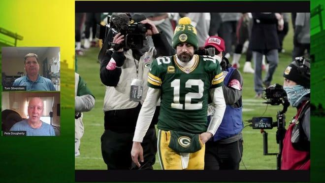 Picture for Green Bay Packers trading for Randall Cobb, one of Aaron Rodgers' favorite targets