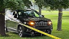 Cover for 2 shoot at car to stop it driving 'erratically' through park