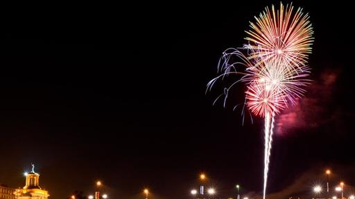 Why Hamilton Residents Will See Some Large Fireworks In The Sky Tonight News Break