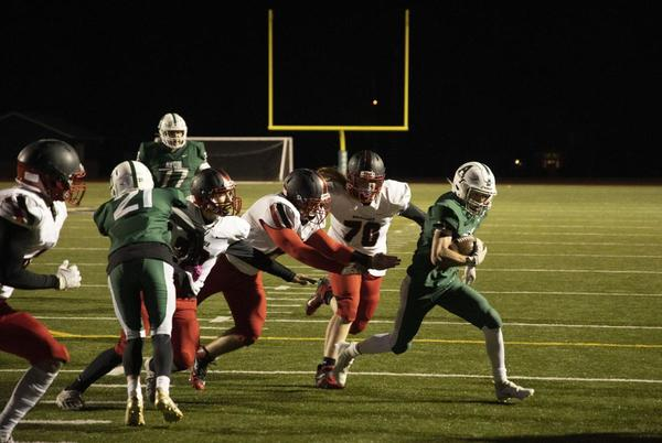Picture for H.S. FOOTBALL: Le Roy, ND finish regular season with wins