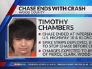 Picture for 22-year-old man arrested following chase through Clark and Wood county