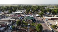Cover for A Birds Eye View Of Le Mars RAGBRAI Events