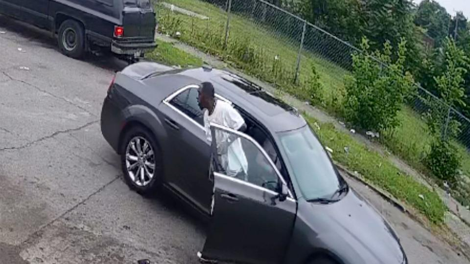 Picture for 11-year-old boy, dad shot while sitting in car in violent attack caught on video
