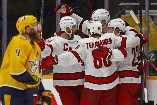 Picture for Predators 3, Hurricanes 4 (OT): On To Next Year