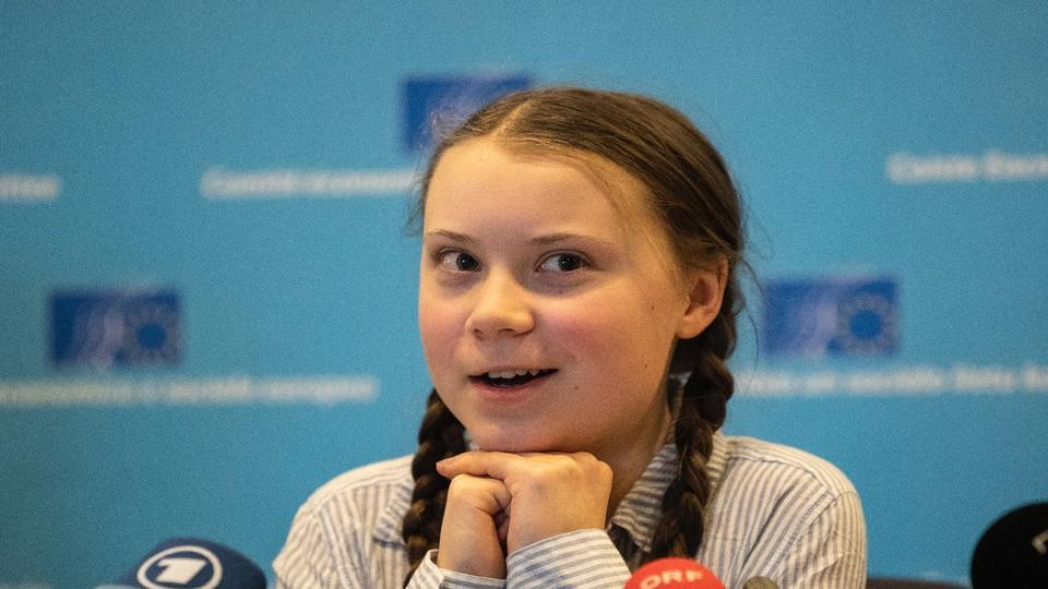 Picture for Greta Thunberg made fun of world leaders for prioritizing steak and lobster over global climate crisis