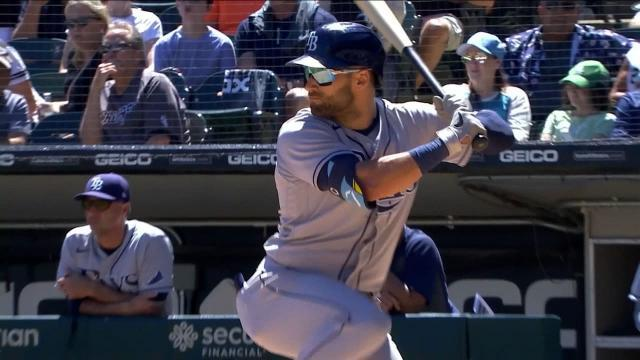 Picture for Chicago White Sox | Kevin Kiermaier's RBI double