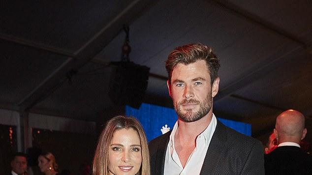 Picture for Chris Hemsworth and Elsa Pataky 'skip the after-party' of the star studded Gold Dinner in Sydney - but make a very generous donation