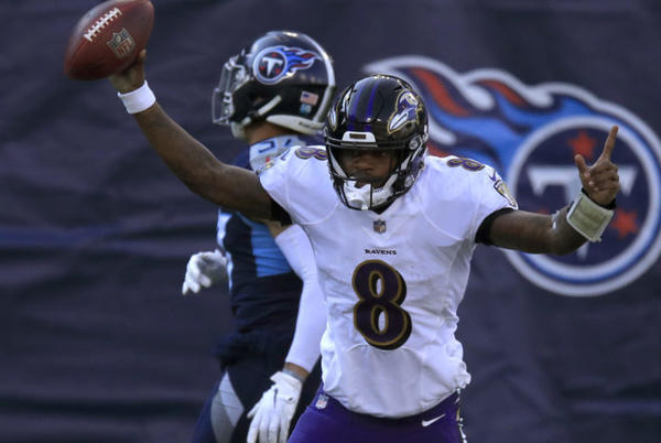 Picture for Lamar Jackson Reveals If He Would Ever Flip Into End Zone Again
