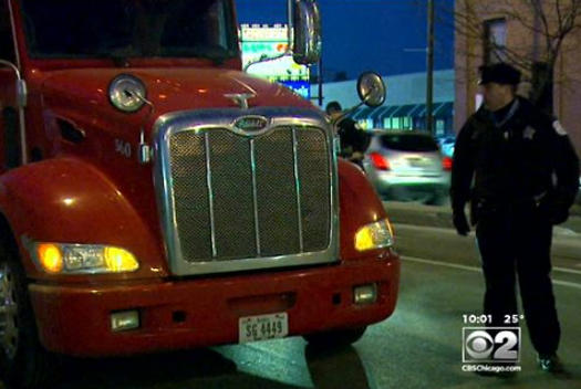 Picture for Englewood Semi-Truck Driver Found Crushed Between His Truck And Trailer