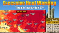 Cover for Montana likely to stay hot, dry for months