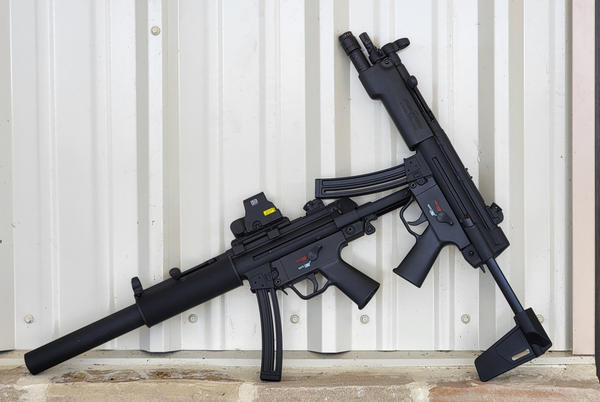 Picture for The Rimfire Report: H&K .22LR MP5 Pistol and Rifle Review