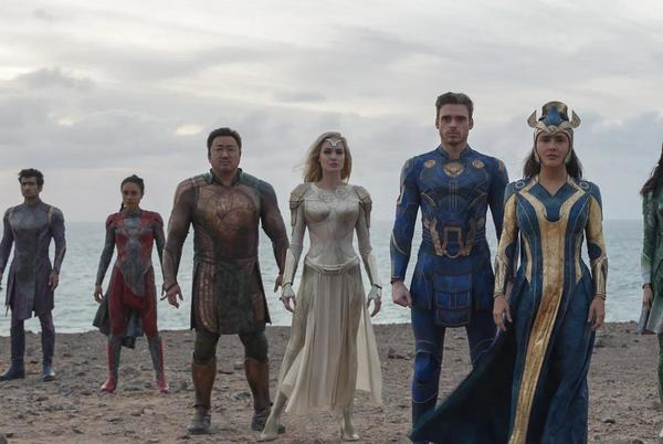 Picture for Marvel's Eternals dreams big and falls hard